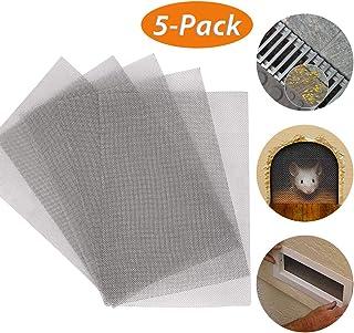 comprar comparacion MOPHY 5 piezas Malla de Alambre Malla Tejido (Malla 10) Malla de Acero Inoxidable 1,98 mm para Insectos Roedor Filtro Gril...