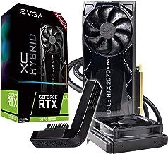 EVGA GeForce RTX 2070 Super Xc Hybrid Gaming, 8GB GDDR6, Water Cooled + PowerLink 08G-P4-3178-Kp
