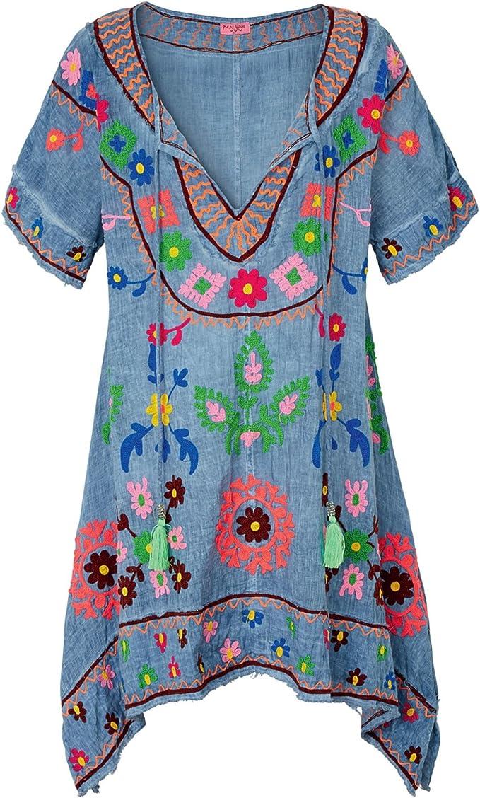 Ruby Yaya Kleid Denim L Denim Grosse L Amazon De Bekleidung