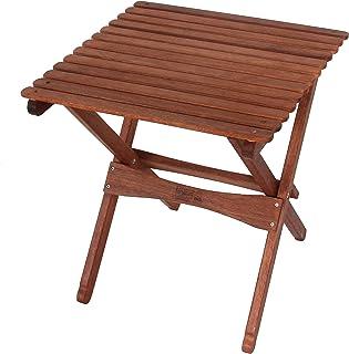 BYER OF MAINE ، Pangean ، میز چوبی تاشو ، بزرگ ، تاشو و حمل آسان ، چوب سخت ، میز پاسیو تاشو ، مناسب برای کمپینگ ، میز کمپ چوبی ، مبلمان مسابقات در خط Pangean ، تک