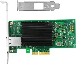 Vogzone for Intel X550-T2 X550-T1 10GB NIC Network Card Dual 10G RJ45 Port X550-T1(1 * 10GBase-T Port) VG-X550-T1