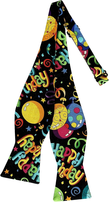 Holiday Bow Challenge the lowest price Ties Mens Happy Self-tie Men's Tie Max 75% OFF Birthday