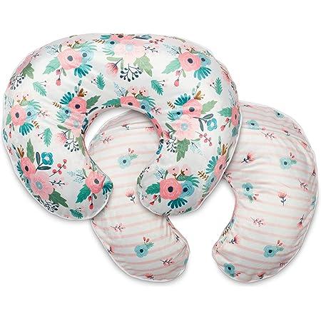 Boho Floral Nursery Decor Soft Fabric Fits Snug On Infant Nursing Pillow Cover Girl Breastfeeding Pillow Slipcover Black Minky Floral Nursing Pillow Cover Breastfeeding Pillow Cover