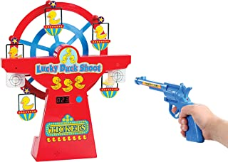 Lucky Duck Electronic Digital Light Up Musical Ferris Wheel Shooting Gallery Game