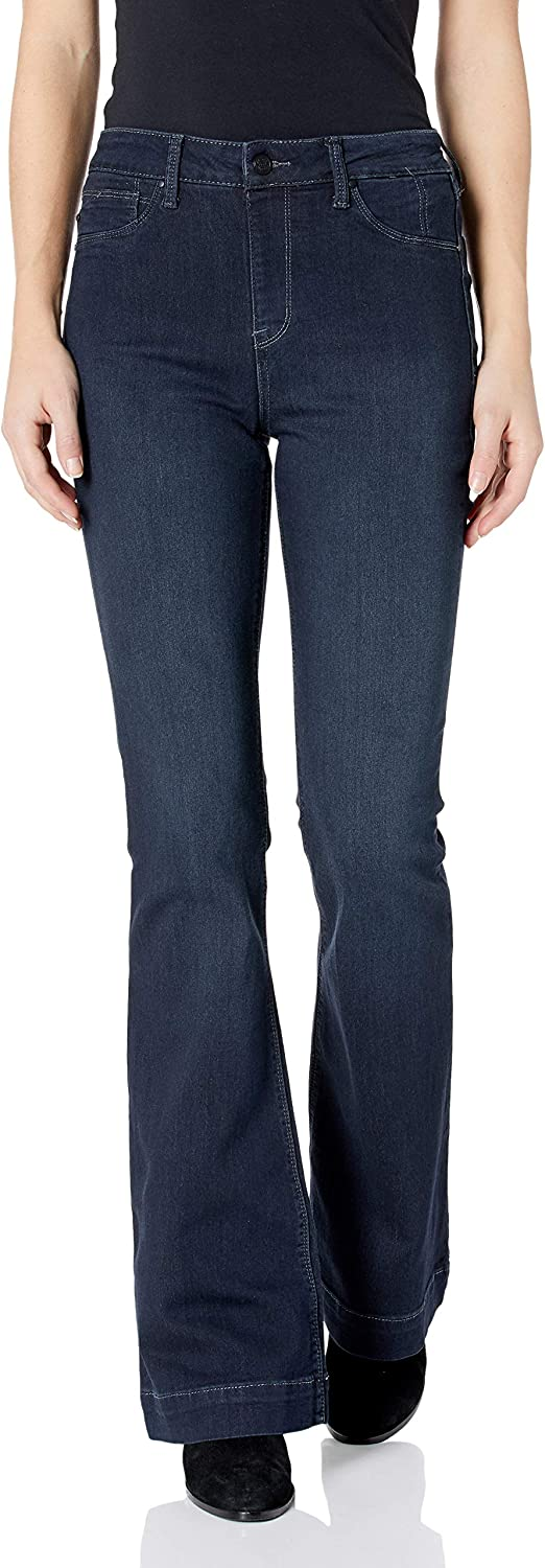 Laurie Felt Women's Silky Limited time trial price Denim OFFicial site Pull-On Jeans Flare