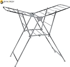 SYNERGY - Super Heavy Duty - Stainless Steel Foldable Wing Style Cloth Dryer/Clothes Drying Stand (SY-CS18)