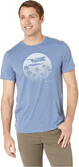 Short Sleeve Plane & Palms Island Tee