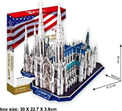 3D Puzzle of St. Patrick`s Cathedral New York City, USA Cubic Fun 117pcs