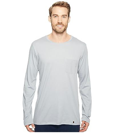 Hanro Night and Day Long Sleeve Shirt (Mineral) Men