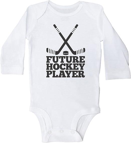 Ballkleid My Favorite Hockey Player is My Novelty Infant Bodysuit One-Piece