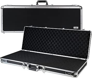 HMF 14404-02 Aluminium Gun Case  Rifle Case  Combination Lock  Cube Fo...