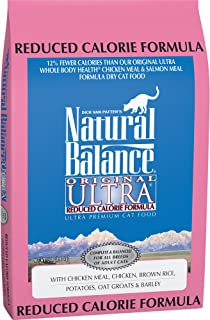 Natural Balance Original Ultra Reduced Calorie Dry Cat Food, Chicken Meal, Chicken, Brown Rice, Potatoes, Oat Groats & Barley