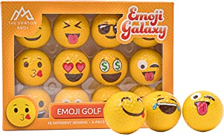 Emoji Galaxy - プロフェッショナル練習用ゴルフボール - 12個パック