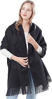 "Gift Box Women Soft Cashmere Wool Scarf Large Pashminas Shawl and Wrap Warm Stole Blanket 78""x 28"""
