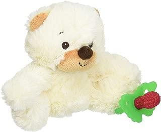 RaZbaby RaZ-Buddy Plush Teether Holder, Bobby Bear
