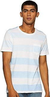 IZOD Mens Round Neck Stripe T-Shirt