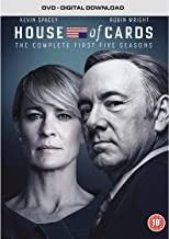 House of Cards - Season 01 / House of Cards - Season 02 / House of Cards - Season 03 / House of Cards - Season 04 / House of Cards - Season 05 - Set [Reino Unido] [DVD]