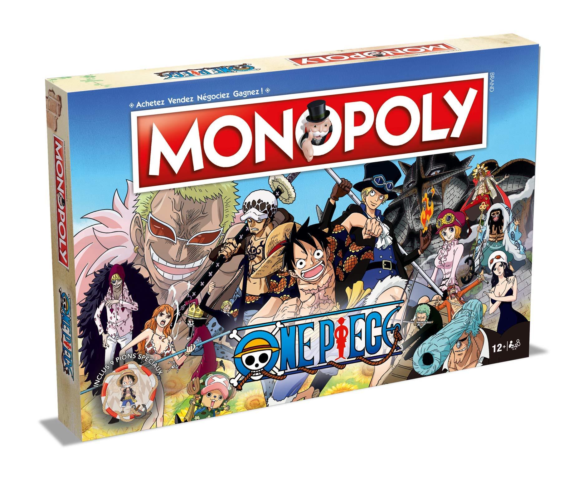 Winning Moves- Monopoly One Piece, 0968, versión Francesa: Amazon.es: Juguetes y juegos