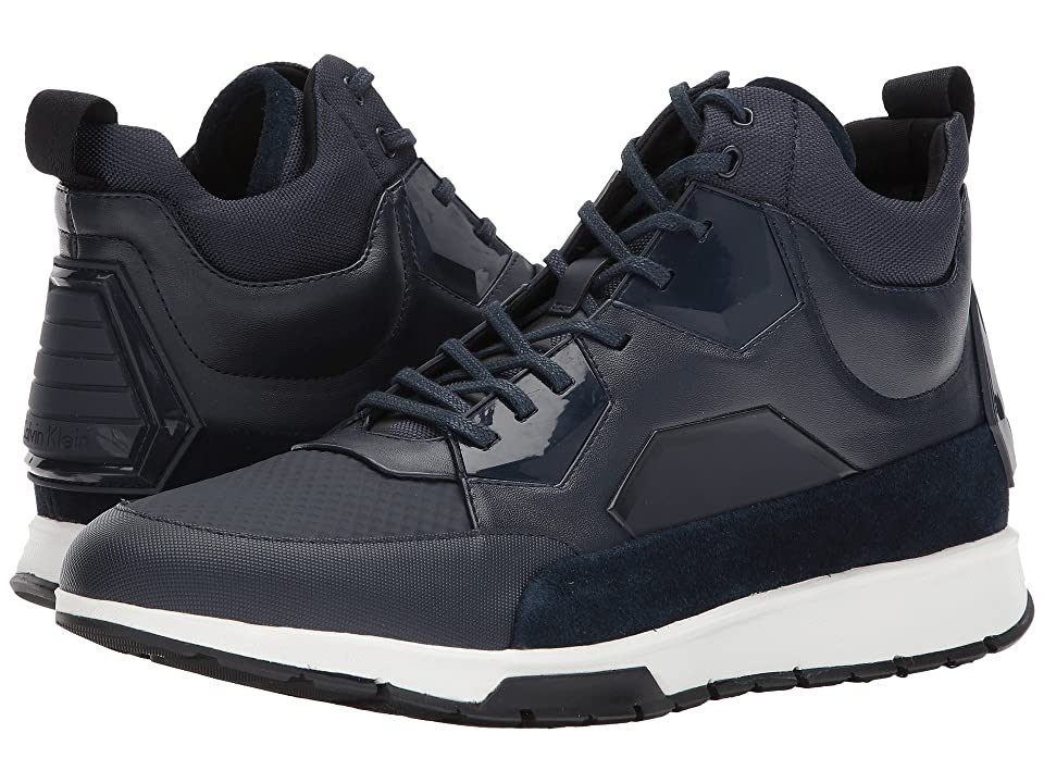 Calvin Klein Kovan (Dark Navy City Embossed Brushed/Tammy Smooth/Calf Suede) Men