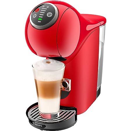 KRUPS Genio S Plus Rouge Machine à café Cafetière Espresso Boost Sélecteur de température Fonction XL KP340510