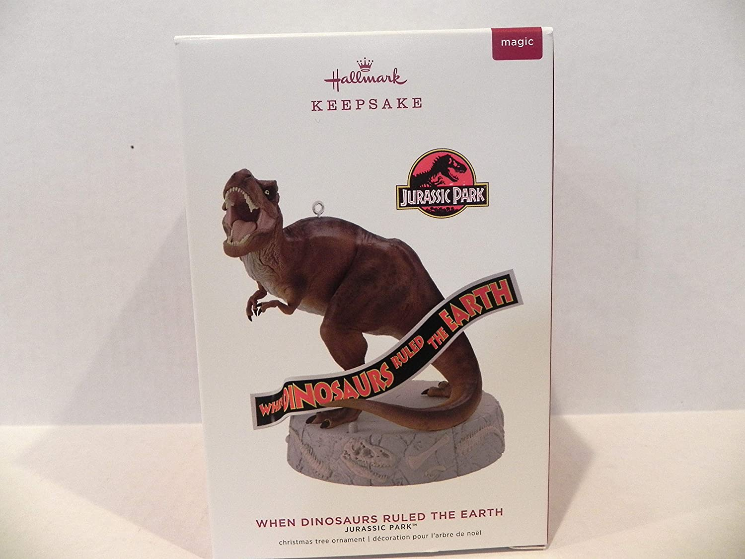 Hallmark 2019 Jurassic Park T-Rex Ruled When Dinosaurs Don't miss the campaign Earth Mus Online limited product