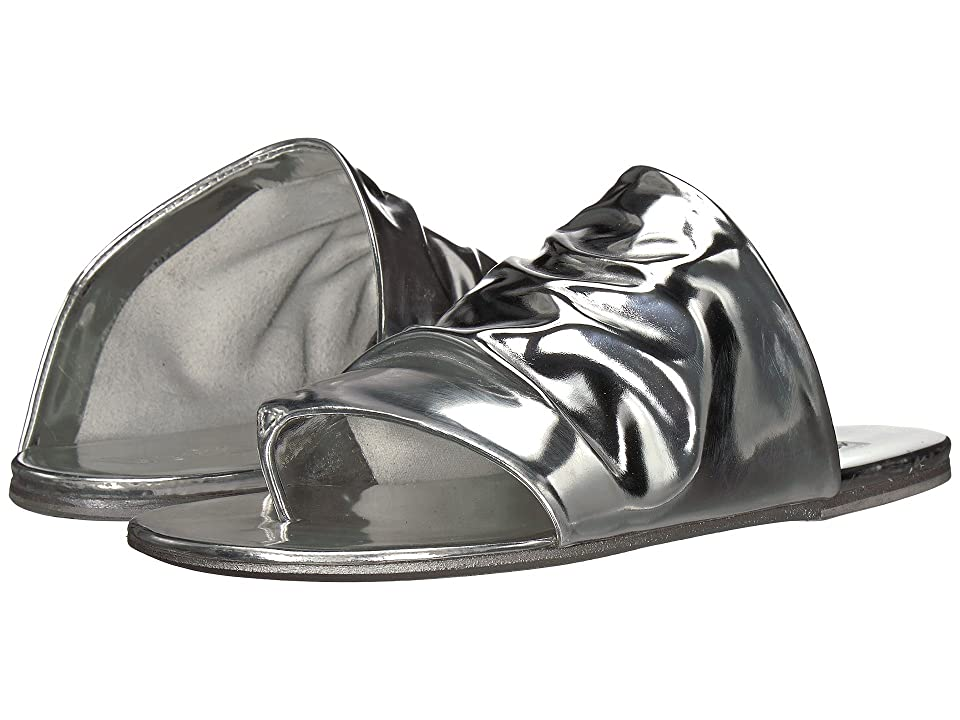 Marsell Rouched Sandal (Silver Mirror) Women