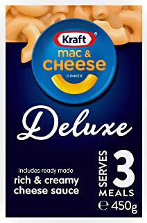 Kraft Mac & Cheese Deluxe Dinner Pasta, 380g