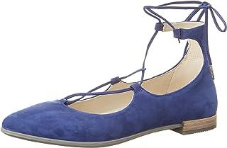 حذاء باليرينا مستوحى من احذية راقصات الباليه مسطح برباط للنساء من ايكو