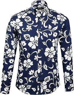 ad6d63d1afeff APTRO Herren Freizeit Mercerisierte Baumwolle Mehrfarbig Langarm Shirt  Größe XS-XXXL