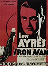 Odsan Gallery Iron Man, Lew Ayres & Robert Armstrong, Jean Harlow, 1931 - Premium Movie Poster Reprint 24