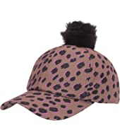 Paul Smith - Pom Leopard Baseball Cap