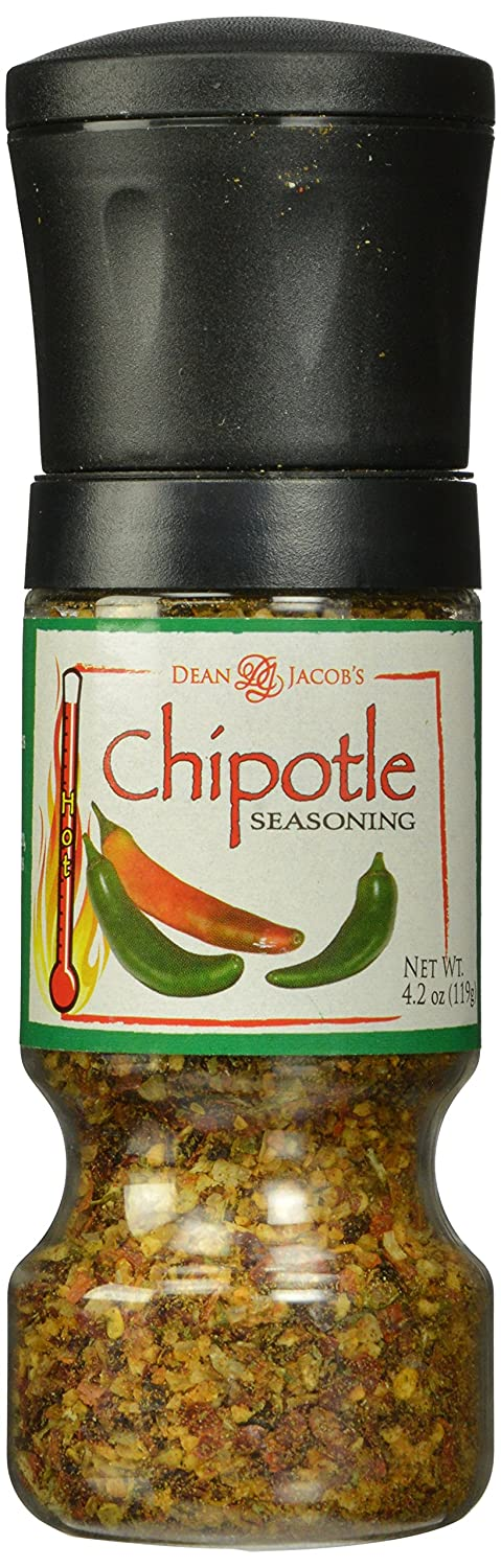 Dean Max 84% OFF Inventory cleanup selling sale Jacobs Gripper Grinder Smokey Chipotle 4.2 Ounc Seasoning