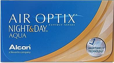 Air Optix Night And Day Aqua 10043864 Lentes de Contacto, R 8.6, D 13.8, Dioptría 4-6 Unidades
