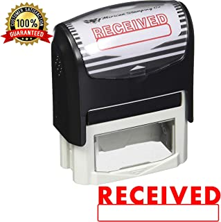 Received Self Inking Rubber Stamp Received Office Stamp (Stamp Only)
