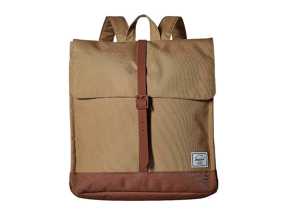 Herschel Supply Co. City Mid-Volume (Kelp/Saddle Brown) Backpack Bags