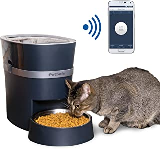 PetSafe PFD19-16861 Smart Feed Automatic Dog and Cat Feeder, Smartphone, 24-Cups (5 678 ml) Wi-Fi Enabled App for iPhone a...