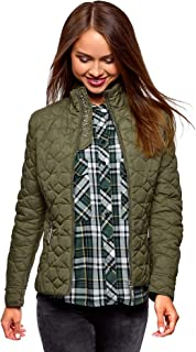 Ultra Women's Quilted Stand Collar Jacket