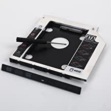 DY-tech 2nd HdD SSD SATA Hard Drive Caddy for Dell Inspiron 15R 5521 5537 15-5000 Series