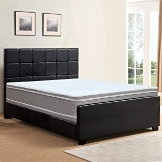 Spring Solution Twin Size 4 Fully Assembled Box Spring for Mattress Hollywood Collection