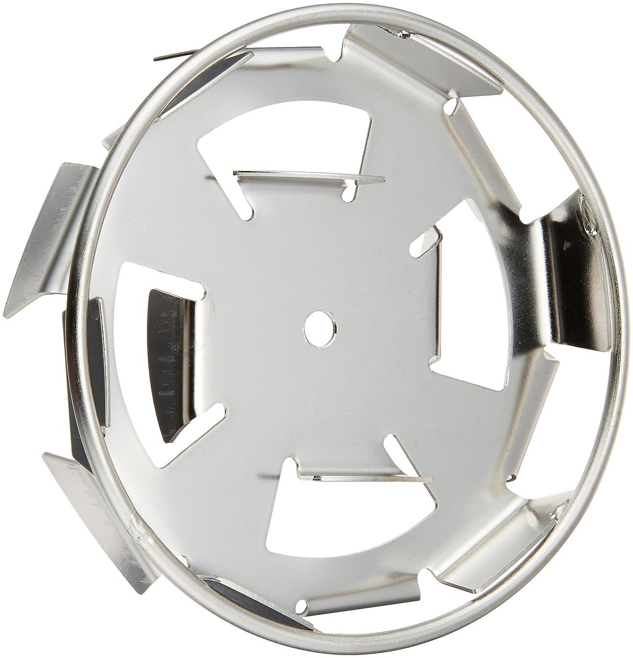 サロン邪魔ツインリョービ(RYOBI) ステンレス製 リング付ダブルスクリュー パワーミキサ用 径150mm 6077985