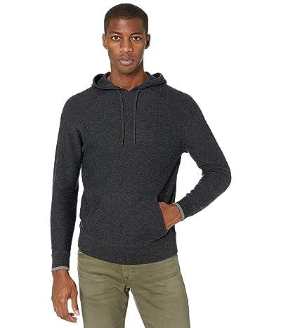 Faherty Mirage Hoodie Sweater (Ash Melange) Men