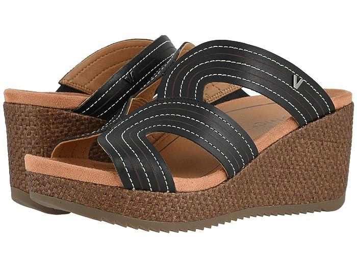 VIONIC  Malorie (Black) Womens Wedge Shoes