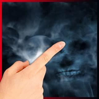 Smoking Blue Skull LWP Free
