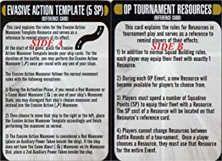 Star Trek Attack Wing The Q-Continuum (1) Evasive Action Template Card with reference card