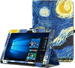 MoKo ASUS Transformer Book T101HA Funda - Slim Plegable Cover Case para ASUS Transformer Book T101HA 10.1 Pulgadas 2016 Tableta (Compatible Laptop con Teclado/Teclado no Incluido), Noche Estrellada