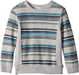 Reverse Baby French Terry Stripe Sweatshirt (Toddler)