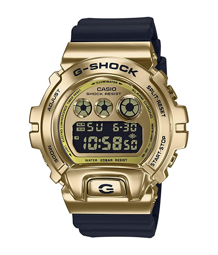 G-Shock  GM6900-9 (Black/Gold) Watches