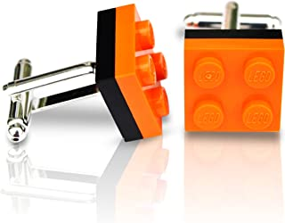mari/é Coffret cadeau pour homme Bordure Rose Magenta SJP Cufflinks LEGO/® plaque Boutons de manchette Mariage