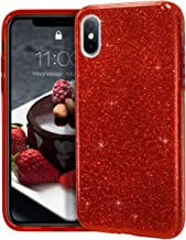 MATEPROX iPhone Xs Max case,Bling Sparkle Cute Girls Women Protective Case for iPhone Xs max 6.5