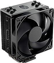 Cooler Master Hyper 212 Black Edition CPU Air Coolor, Silencio FP120 Fan, 4 CDC 2.0 Heatpipes, Anodized Gun-Metal Black, B...